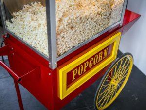 Untergestell für eine Popcornmaschine zum herstellen von Popcorn