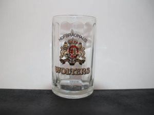 Glas von Wolters für Bier oder andere Getränke