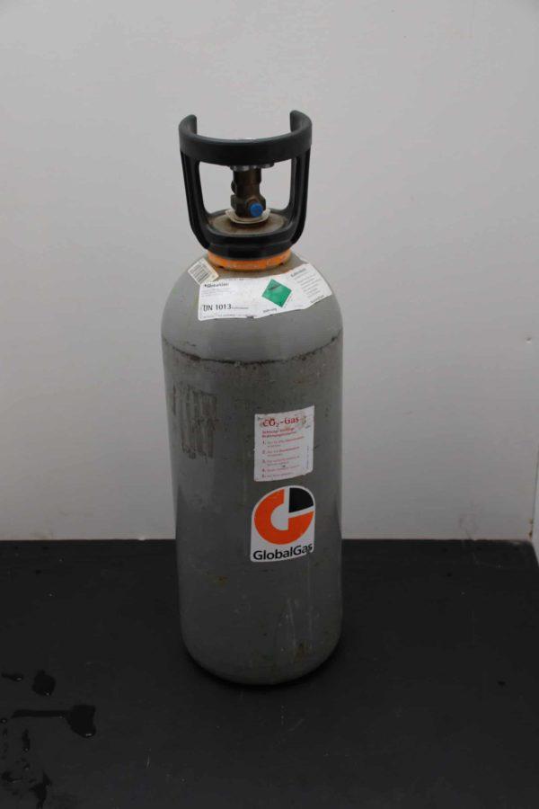 Flasche für Kohlensäure zum benutzen von Zapfanlagen