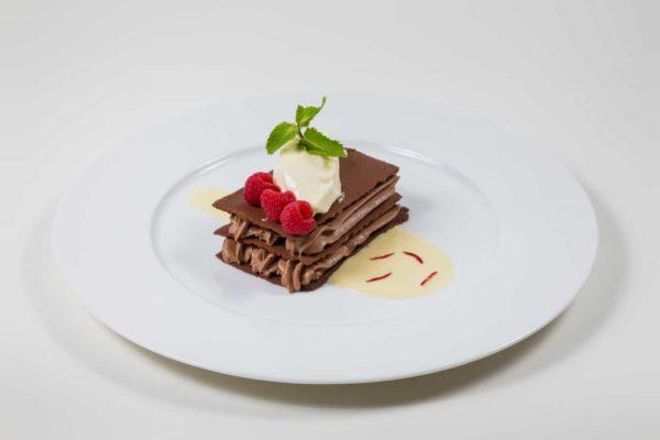 Teller für Dessert