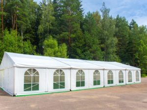 Zelt zum Falten für kleine Veranstaltungen