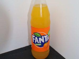 Erfrischungsgetränk mit Orange