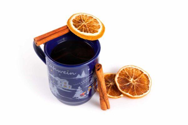 Tasse für Glühwein oder andere warme Getränke