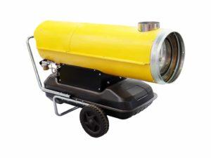 Heizgebläse mit Gas für Veranstaltungen im Winter oder an kalten Tagen