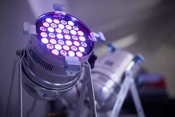 Licht Strahler für Veranstaltungen