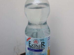 Kohlensäurehaltiges Mineralwasser von Extaler