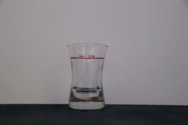 Glas für Spirituosen