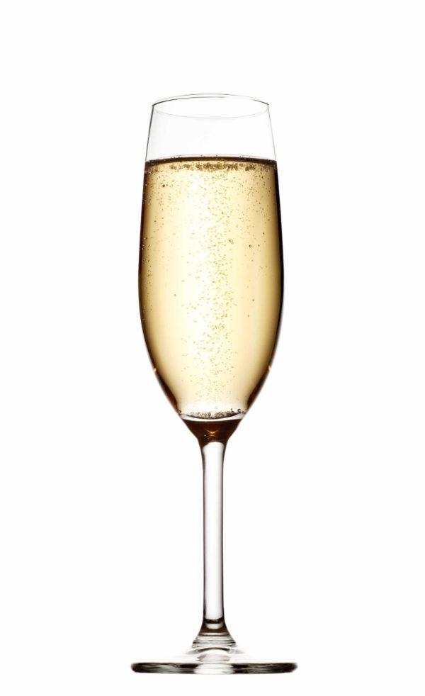 Glas für Sekt oder andere Getränke