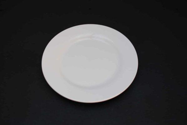 Flacher Teller für Essen
