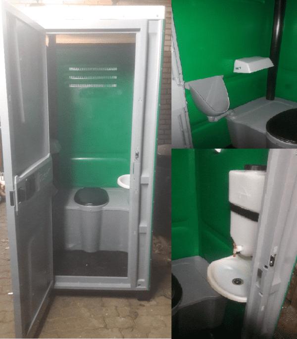 Toilettenkabine für Veranstaltungen