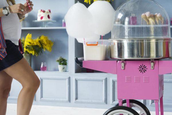 Zuckerwattemaschine für leckere Zuckerwatte